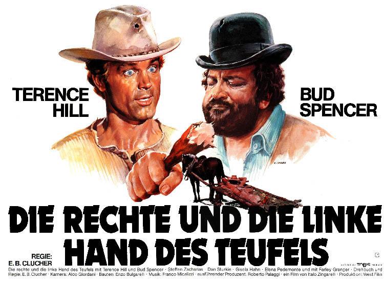 Filmplakat - die Rechte und die Linke Hand