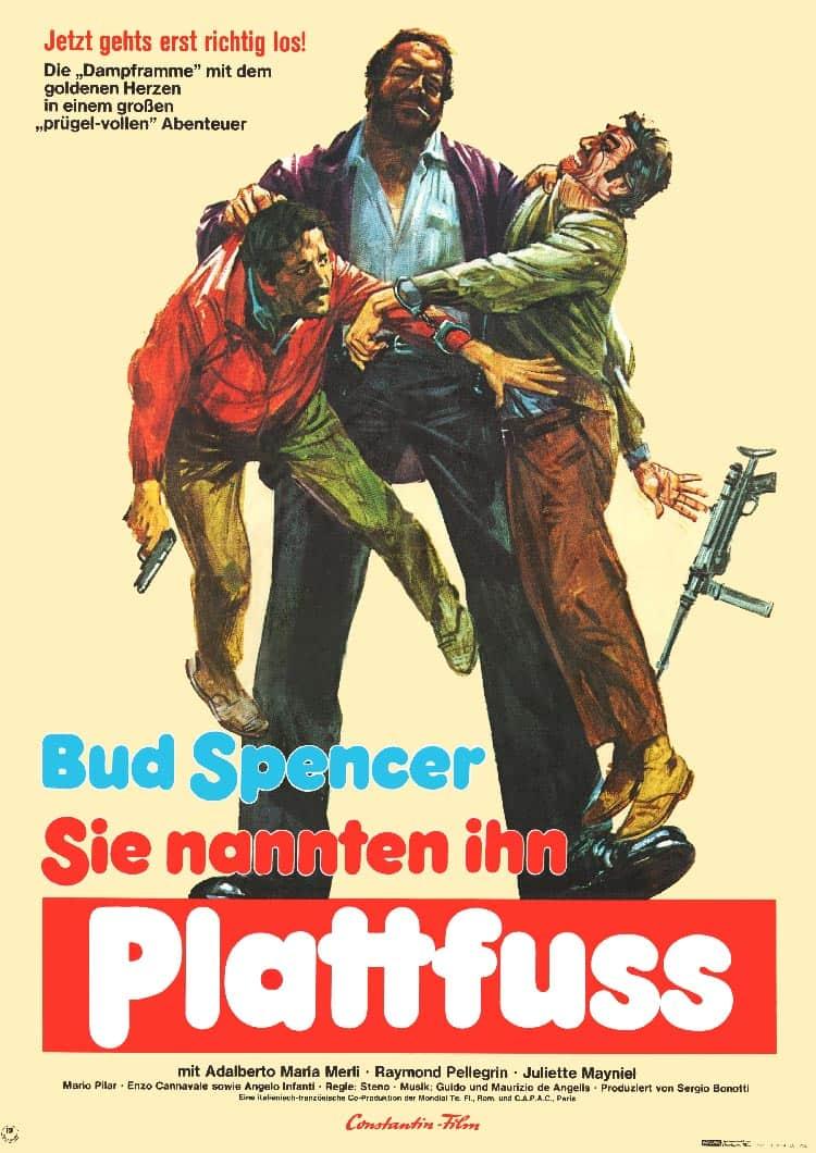 Plattfuß Bud Spencer