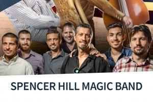 Event Ticket Spencer Hill Magic Band Club Konzert